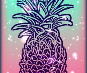background and pineapple+ image
