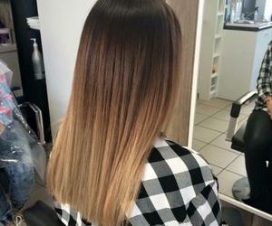 hair, beautiful, and brown image