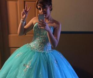 blue, dresses, and quince image