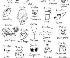 Harry Styles, one direction, and alphabet image