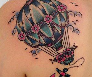 tattoo and balloon image
