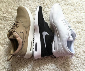 shoes, nike, and sport image