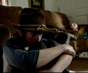 zombies, the walking dead, and chandler riggs image