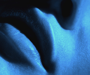 blue, skin, and lips image