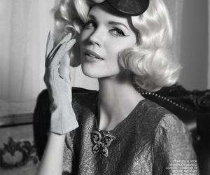 vintage, blonde, and style image