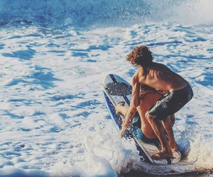 summer, waves, and adventure image