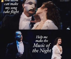 broadway, musical, and The Phantom of the Opera image