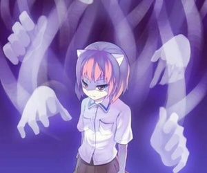 elfen lied and anime image