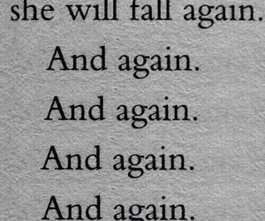 fall, again, and quotes image