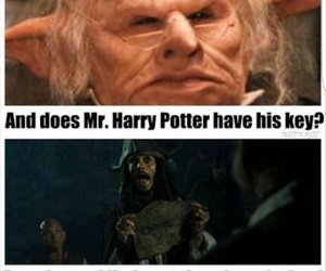 harry potter, funny, and jack sparrow image