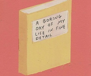 book, boring, and life image