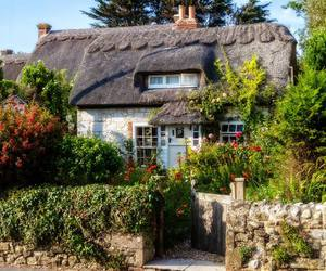 cottages, isle of wight, and uk image