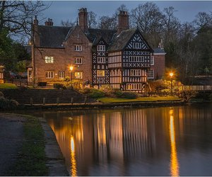 bridgewater canal, worsley, and packet house image