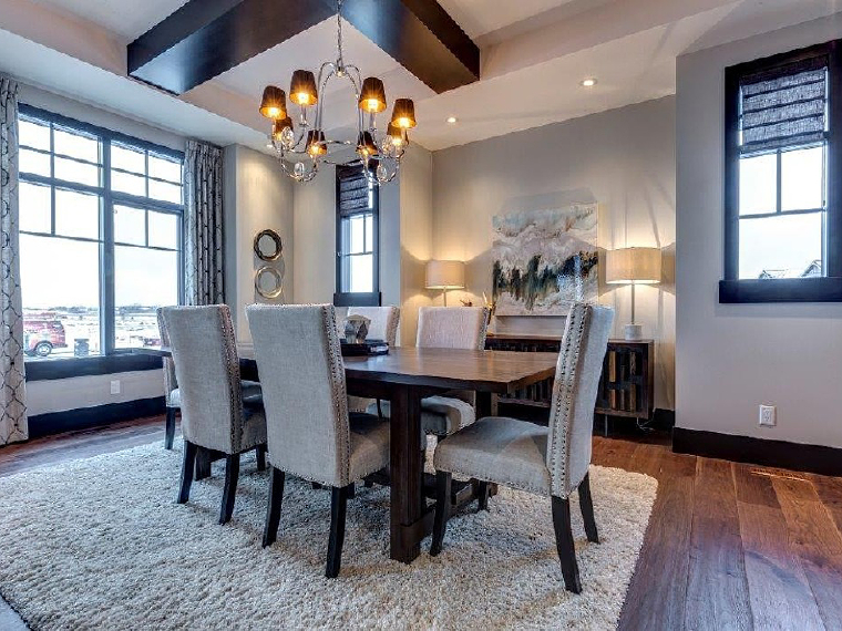 canada, design, and dining room image
