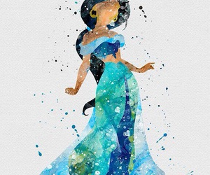 aladdin, disney princess, and fanart image
