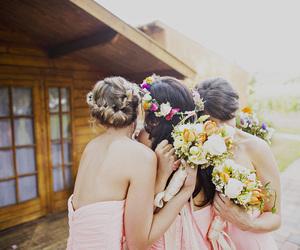 flowers and wedding image