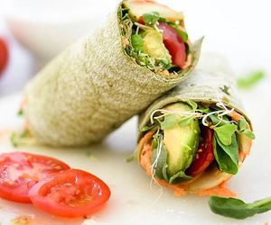 food, sandwich, and wraps image