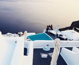 sea, Greece, and travel image