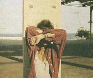 girl, summer, and vintage image