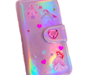 ariel, pink, and money bag image