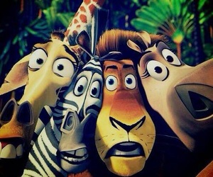 madagascar, cartoon, and funny image