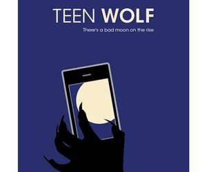 minimalist, series, and teen wolf image