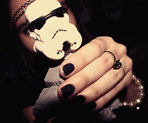 girl, ring, and star wars image