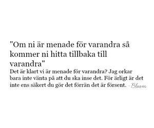 quotes, swedish, and citat image