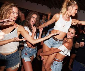 candice swanepoel, taylor hill, and model image