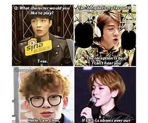 Chen, exo, and derp image