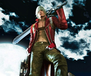 devil may cry, Dante, and game image