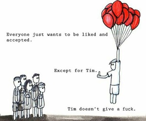 funny, tim, and balloons image