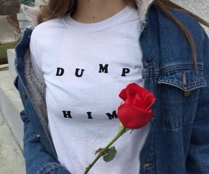 rose, grunge, and tumblr image