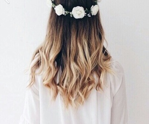 beautiful, ombre, and flowers image