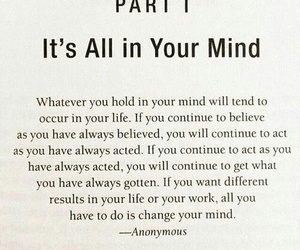 quote, mind, and life image