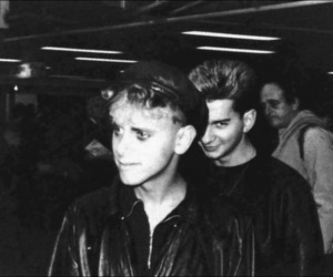 depeche mode, dave gahan, and martin gore image