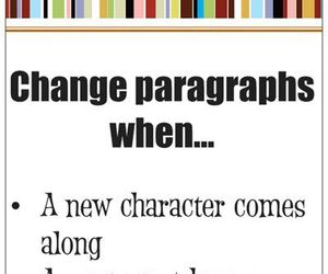 writing and paragraphs image