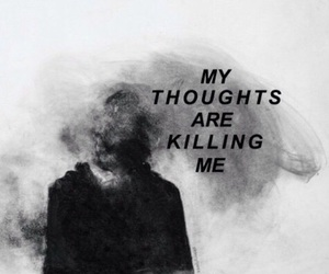 thoughts, quotes, and sad image