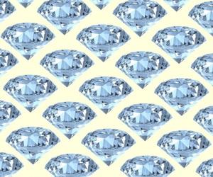 background, diamond, and pastel image