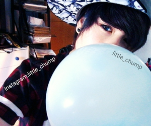 alternative, attractive, and balloons image