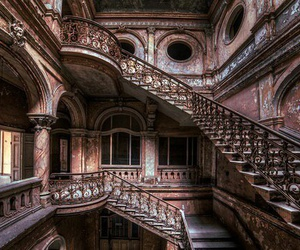 architecture, staircase, and castle image