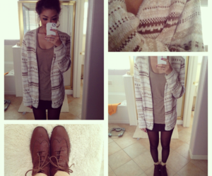 fashion, oxford, and cute outfit image
