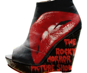 ankle boot, shoes, and The Rocky Horror Picture Show image