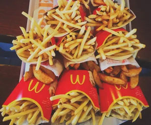 candy, fries, and McDonald's image