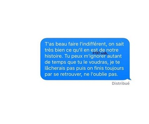 amour, sms, and texte image