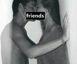 friends, kiss, and just friends image