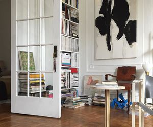 interior, home, and books image