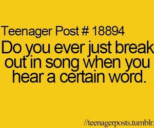 funny, teenager post, and quotes image