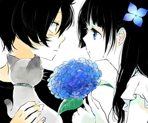 anime, sankarea, and couple image