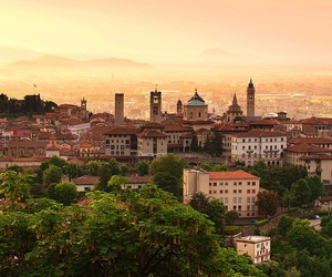 beautiful, vacation, and bergamo image